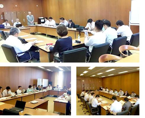 7月22日開催の市政改革特別委員会の勉強会を黒田委員長、太田代表含め13名参加で開催。