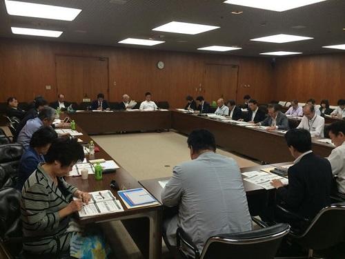 総合区PT、国際バカロレア認定公設置民営学校、大阪市立大学の新大学構想の勉強会