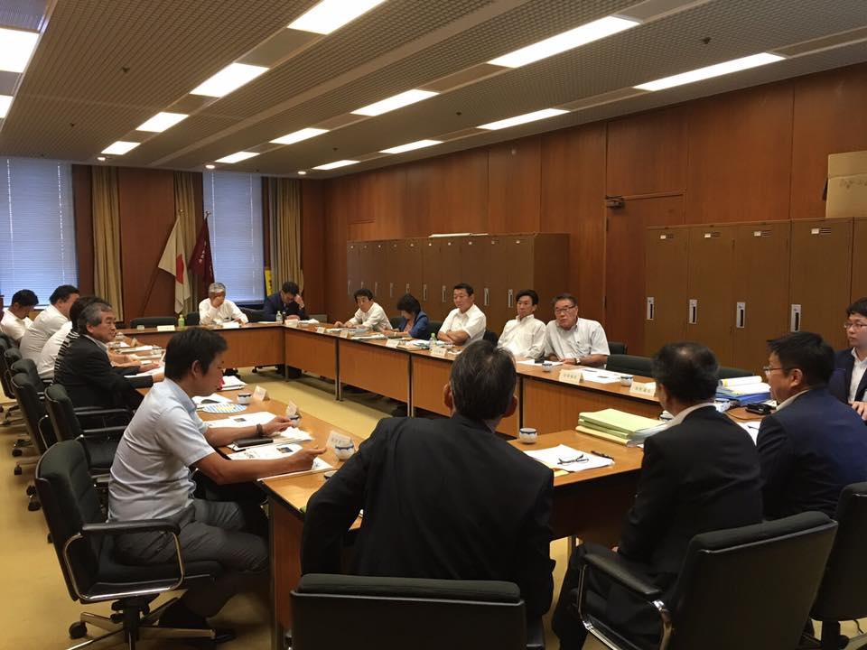 本日議員団総会後、関西電力の方と勉強会を開催。